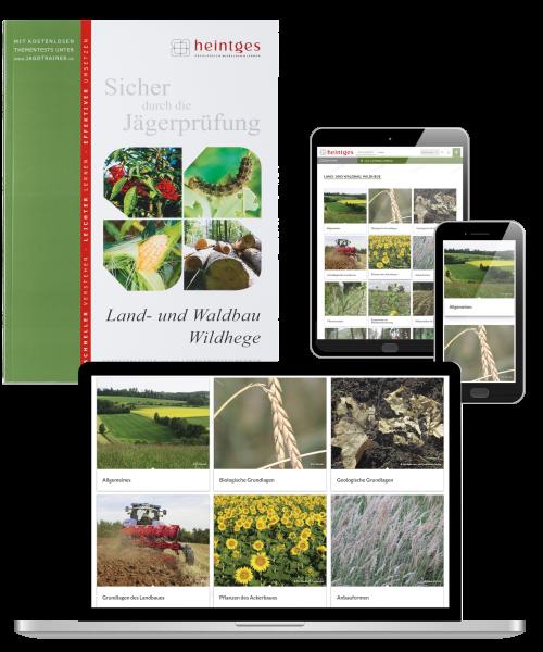 Kombiangebot Arbeitsblätter Land- und Waldbau, Wildhege (Print & Digital)