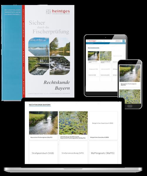 Kombiangebot Arbeitsblätter Rechtskunde Bayern (Print & Digital)