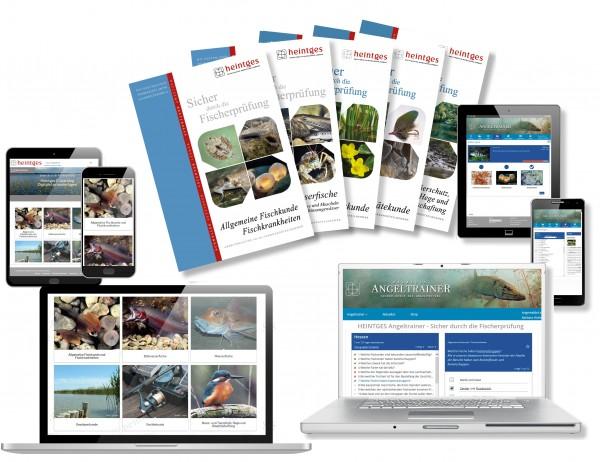 Grundausstattung Fisch Print & Digital & Angeltrainer