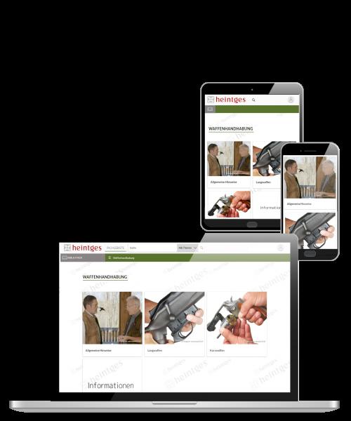 Digitales Handbuch Waffenhandhabung