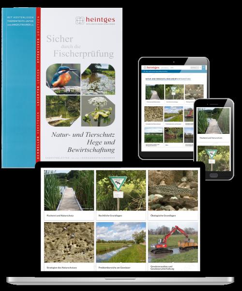 Kombiangebot Arbeitsblätter Natur- und Tierschutz, Hege und Bewirtschaftung (Print & Digital)