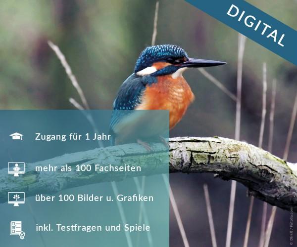 Digitale Arbeitsblätter Natur- und Tierschutz, Hege und Bewirtschaftung