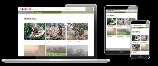 Digitale Arbeitsblätter - Jagdliche Praxis