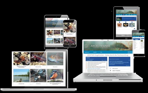 Grundausstattung Fisch Digital & Angeltrainer