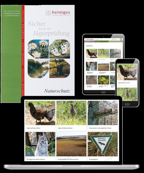 Kombiangebot Arbeitsblätter Naturschutz Print & Digital