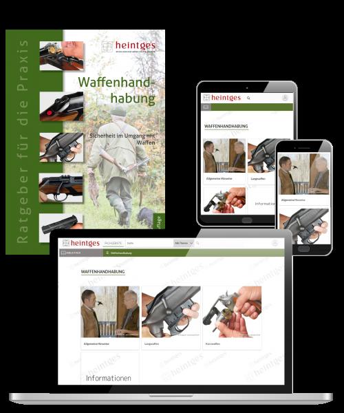 Kombiangebot Handbuch Waffenhandhabung (Print & Digital)