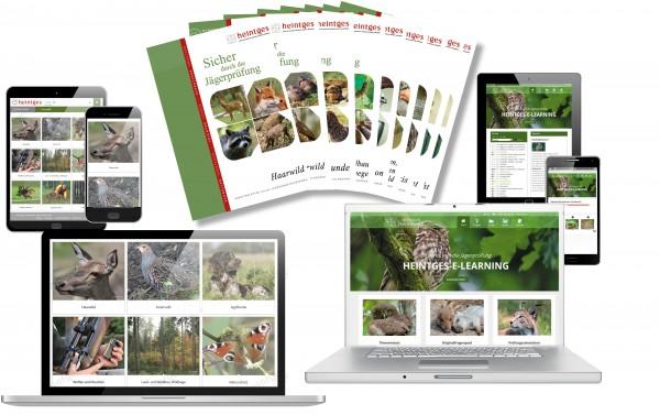 Grundausstattung Jagd (Print & Digital) mit Jagdtrainer