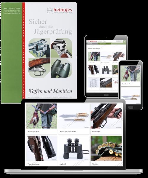 Kombiangebot Arbeitsblätter Waffen und Munition Print & Digital