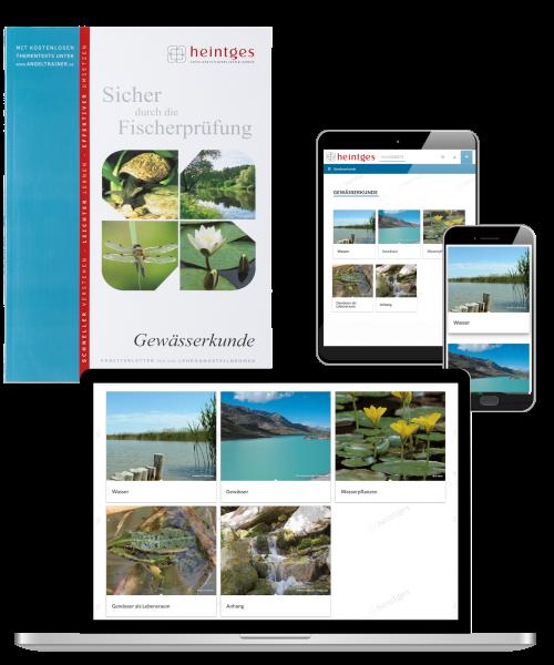 Kombiangebot Arbeitsblätter Gewässerkunde Print & Digital