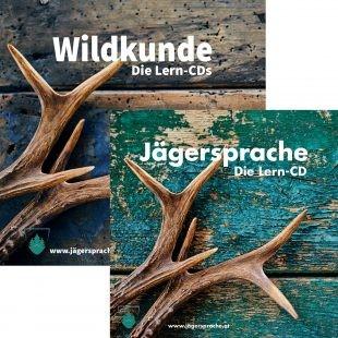 Jägersprache & Wildkunde - Die Lern CDs Kombipaket