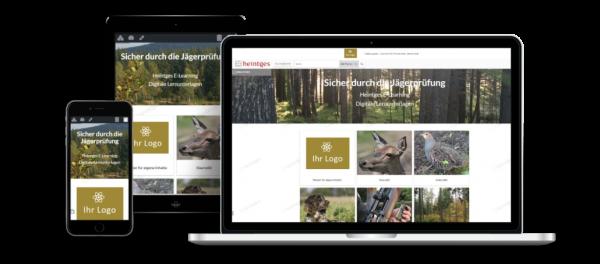 Sicher durch die Jägerprüfung - personalisiertes E-Learning