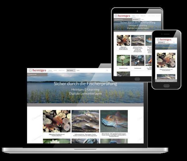 Digitale Arbeitsblätter Grundaustattung Fisch