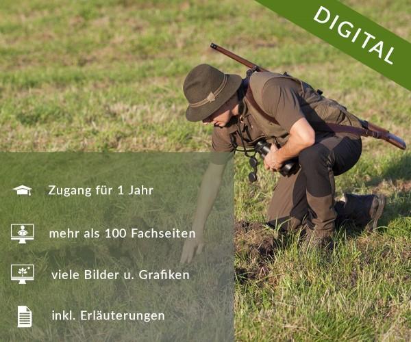 Digitale Arbeitsblätter Jagdrecht Baden-Württemberg